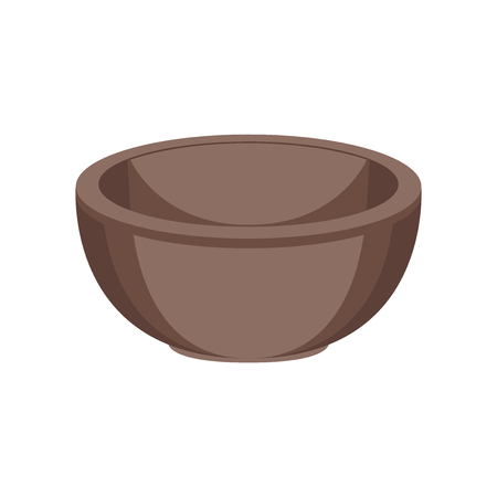 Bowl icon vector isolated on white background for your web and mobile app design.