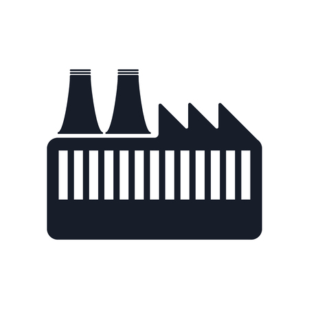 Factory icon isolated on white background for your web and mobile app design.