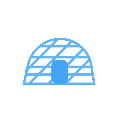 Igloo icon vector isolated on white background for your web and mobile app design, Igloo icon concept
