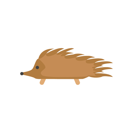 Hedgehog icon vector isolated on white background for your web and mobile app design, Hedgehog icon concept