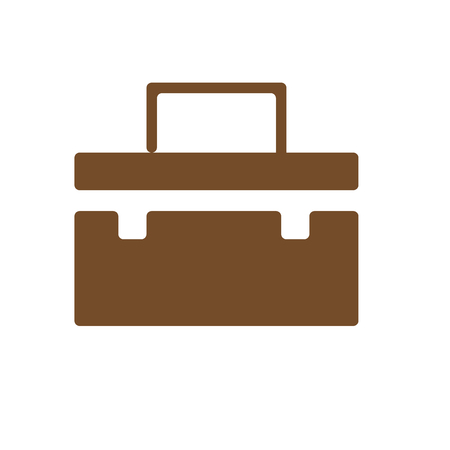 Suitcase icon vector isolated on white background for your web and mobile app design, Suitcase icon concept
