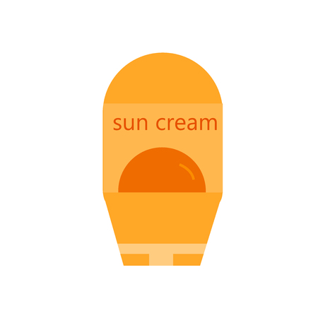 Sun protection icon vector isolated on white background for your web and mobile app design Archivio Fotografico - 107198277