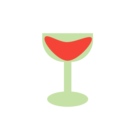 Cocktail icon vector isolated on white background for your web and mobile app design