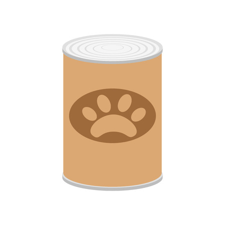 Pet food icon vector isolated on white background for your web and mobile app design, Pet food icon concept Archivio Fotografico - 107343675