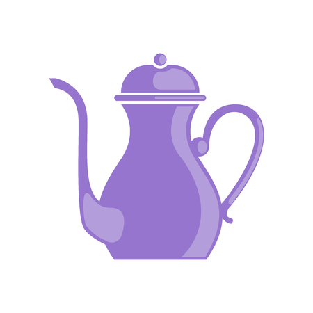 Teapot icon vector isolated on white background for your web and mobile app design