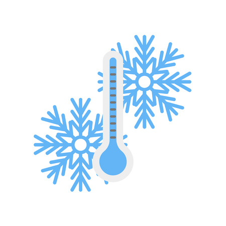 Temperature icon vector isolated on white background for your web and mobile app design