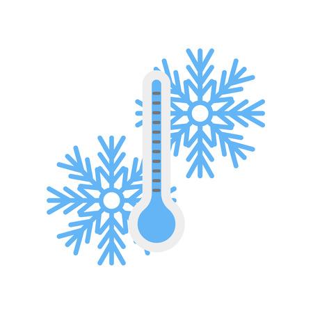 Temperatursymbolvektor isoliert auf weißem Hintergrund für Ihr Web- und mobiles App-Design Vektorgrafik