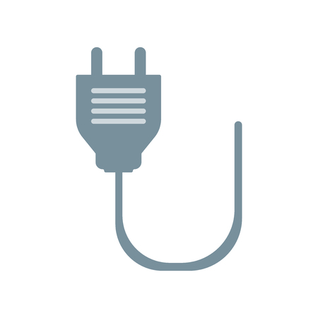 Plug icon vector isolated on white background for your web and mobile app design Фото со стока - 107567566