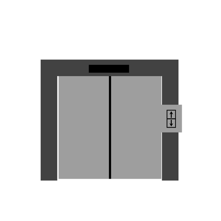 Elevator icon vector isolated on white background for your web and mobile app design, Elevator icon concept