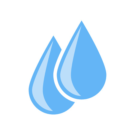 Water icon vector isolated on white background for your web and mobile app design, Water icon concept