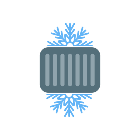 Cool icon vector isolated on white background for your web and mobile app design  イラスト・ベクター素材