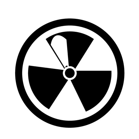 Radiation icon vector isolated on white background for your web and mobile app design 写真素材 - 107067245