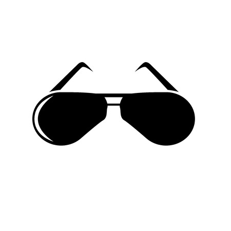 Glasses icon vector isolated on white background for your web and mobile app design