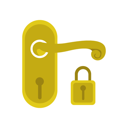 Handle icon vector isolated on white background for your web and mobile app design