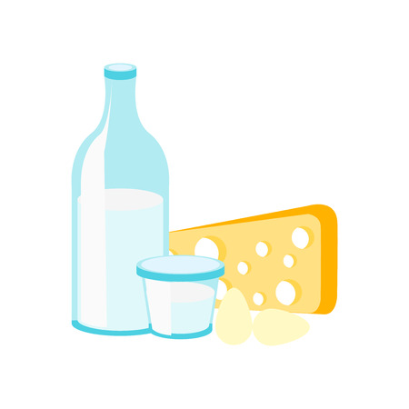 Dairy icon vector isolated on white background for your web and mobile app design, Dairy icon concept