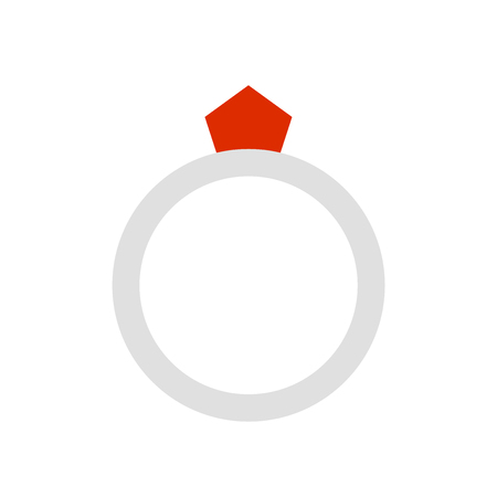 Ring icon vector isolated on white background for your web and mobile app design