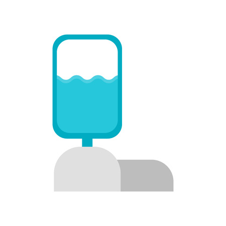 Water tank icon vector isolated on white background for your web and mobile app design Ilustrace