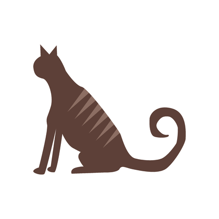 Cat icon vector isolated on white background for your web and mobile app design Archivio Fotografico - 107066734
