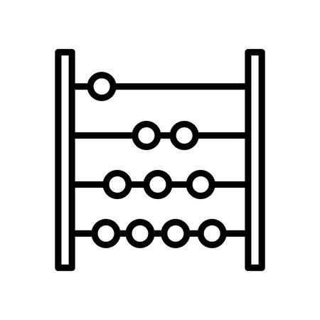 Contando vector icono aislado sobre fondo blanco, contando signo transparente, elementos de línea y contorno en estilo lineal