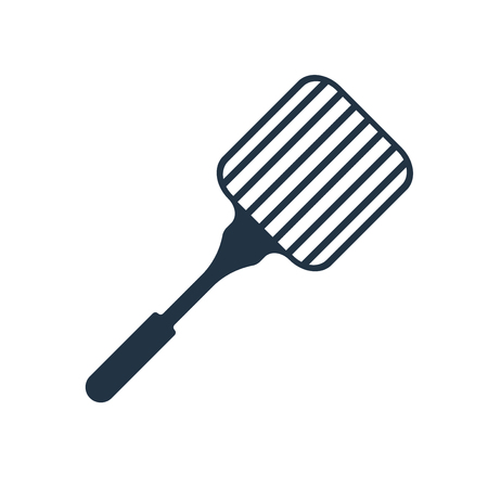 Grill icon vector isolated on white background, Grill transparent sign