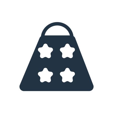 Handbag icon vector isolated on white background, Handbag transparent sign Foto de archivo - 111604449