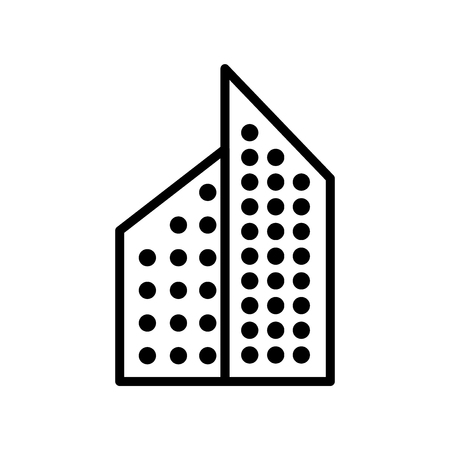 Aparment icon vector isolated on white background, Aparment transparent sign , line or linear sign, element design in outline style