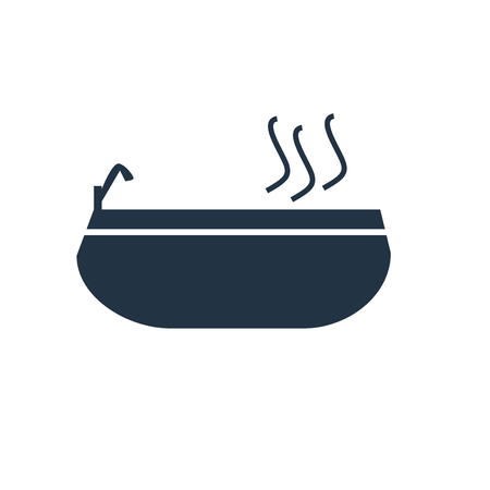 Jacuzzi icon vector isolated on white background, Jacuzzi transparent sign Иллюстрация