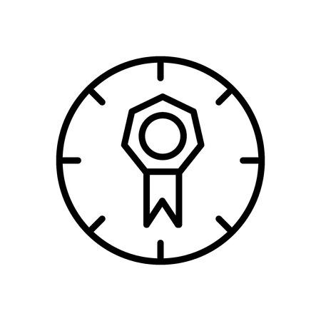 Vecteur d'icône de qualité isolé sur fond blanc, éléments de signe, de ligne et de contour transparents de qualité dans un style linéaire Vecteurs