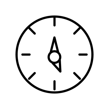 Time left icon vector isolated on white background, Time left transparent sign , line and outline elements in linear style