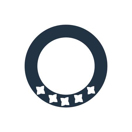 Bracelet icon vector isolated on white background, Bracelet transparent sign