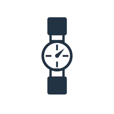Watch icon vector isolated on white background, Watch transparent sign Stock Vector - 111604902