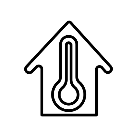 House icon vector isolated on white background, House transparent sign , line and outline elements in linear style 일러스트