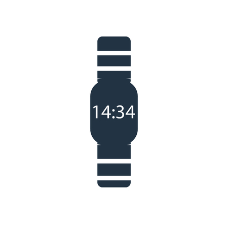 Watch icon vector isolated on white background, Watch transparent sign Stock Vector - 111605039