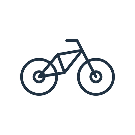 Bmx icon vector isolated on white background, Bmx transparent sign