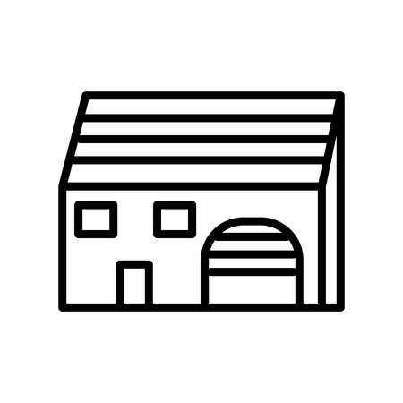 Mansion icon vector isolated on white background, Mansion transparent sign , line or linear sign, element design in outline style