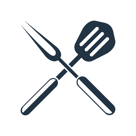 Bbq icon vector isolated on white background, Bbq transparent sign