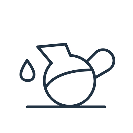 Pitcher icon vector isolated on white background, Pitcher transparent sign Illustration