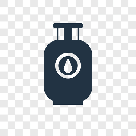 Gas vector icon isolated on transparent background, Gas logo concept