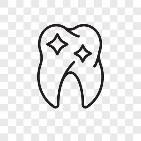 Premolar vector icon isolated on transparent background, Premolar logo concept Stock Vector - 107779952