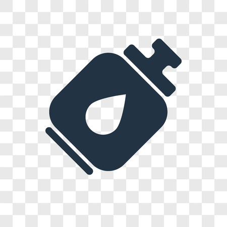 Camping gas vector icon isolated on transparent background, Camping gas logo concept Stock Vector - 107779630