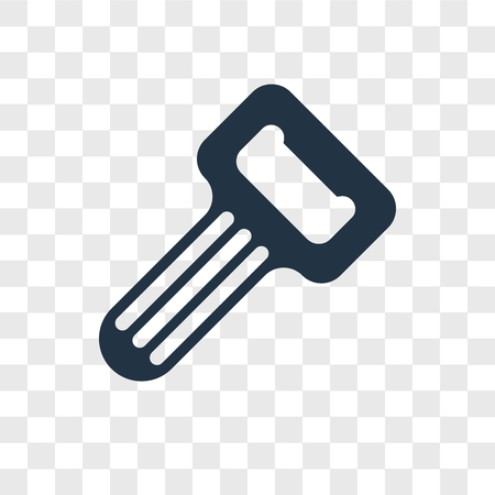 Opener vector icon isolated on transparent background, Opener logo concept