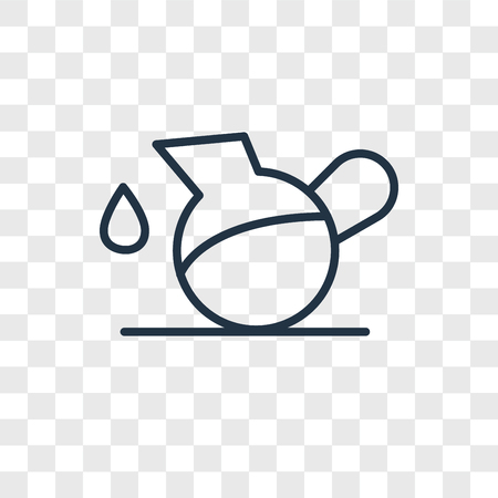 Pitcher vector icon isolated on transparent background, Pitcher logo concept