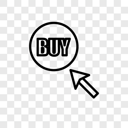 Buy Vector Icon Isolated On Transparent Background Buy Logo Royalty Free Cliparts Vectors And Stock Illustration Image 107779152