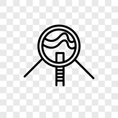 Future House vector icon isolated on transparent background, Future House logo concept