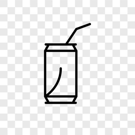 Soda vector icon isolated on transparent background, Soda logo concept Stockfoto - 107778782