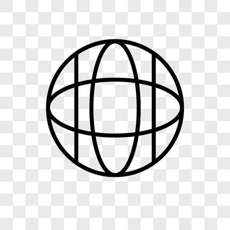 Icona di vettore del sito Web isolato su sfondo trasparente, concetto di logo del sito Web Logo