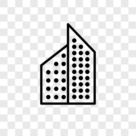 Aparment vector icon isolated on transparent background, Aparment logo concept Imagens - 107700844