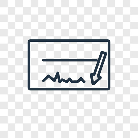 Cheque vector icon isolated on transparent background, Cheque logo concept