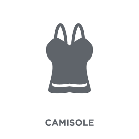 Camisole icon. Camisole design concept from Camisole collection. Simple element vector illustration on white background. Banque d'images - 111839100