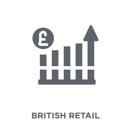British Retail Consortium icon. British Retail Consortium design concept from British Retail Consortium collection. Simple element vector illustration on white background. 向量圖像